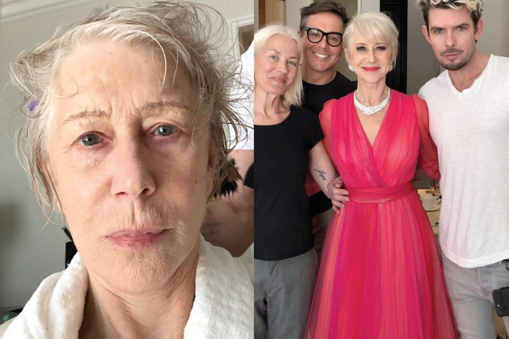 helen mirren no make up