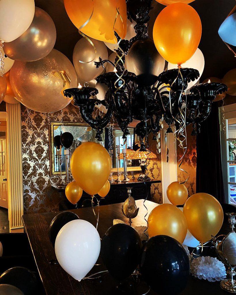 ביתה של קייט הדסון אחרי מסיבת יומולדת 40