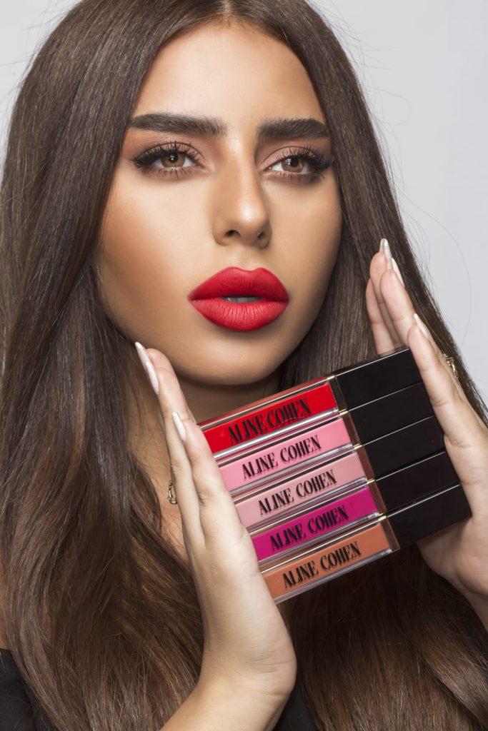 קולקציית השפתונים של הבלוגרית אלין כהן