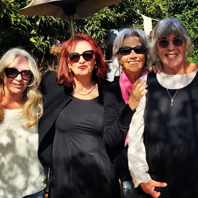 מימין לשמאל-טובהל'ה, נורית גפן, שרית ישי-לוי וג'וזי כץ