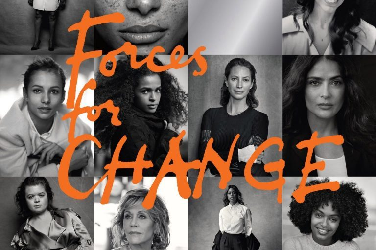 1הכותרת הראשית לפרויקט של מייגן מרקל בווג הבריטי - כוחות לשינוי
