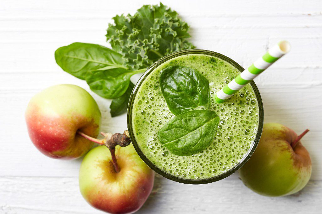 עלים ירוקים לתזונה בריאה
