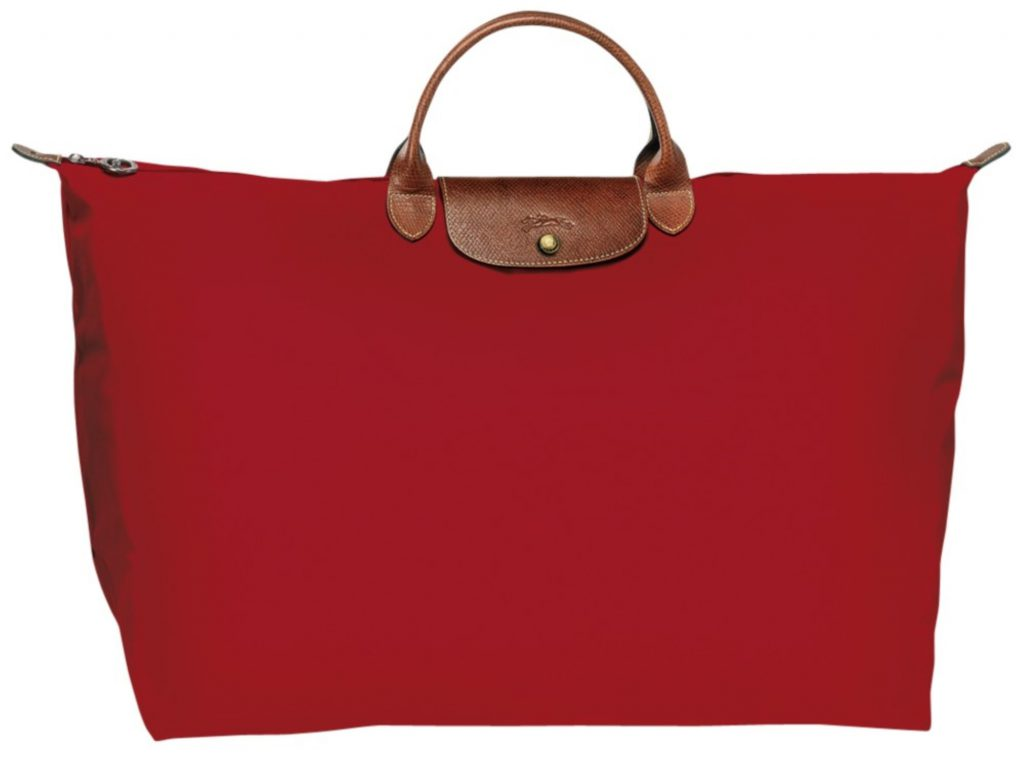 תיק אדום גדול , דגם פליאז', 570 שקל, לונגשאמפ2