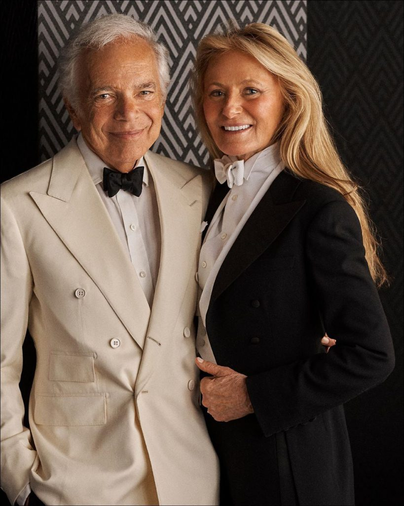 2ראלף לורן ואשתו ריקי צילום ראלף לורן