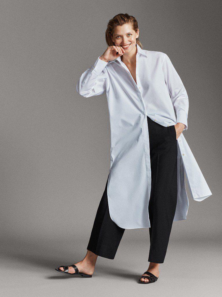 2שמלת חולצה עם כיפתור לכל האורך 425 מסימו דוטי