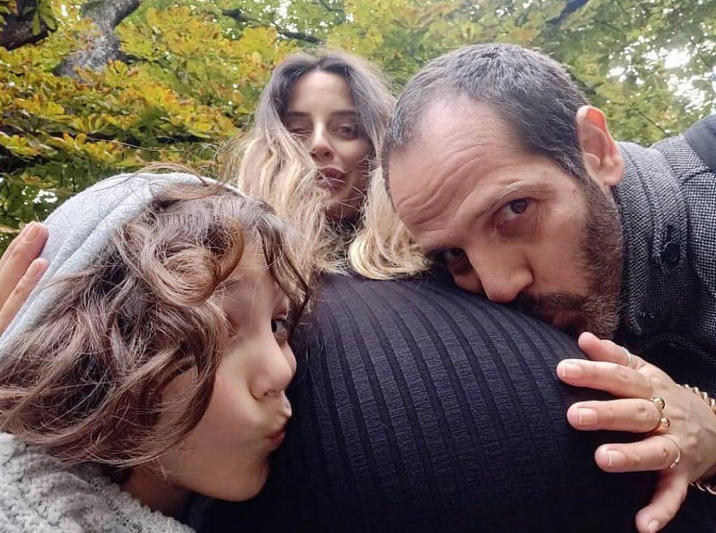 4עדי שילון, יוסף סוויד ובנו אלכסנדר סול לפני הלידה של מישל