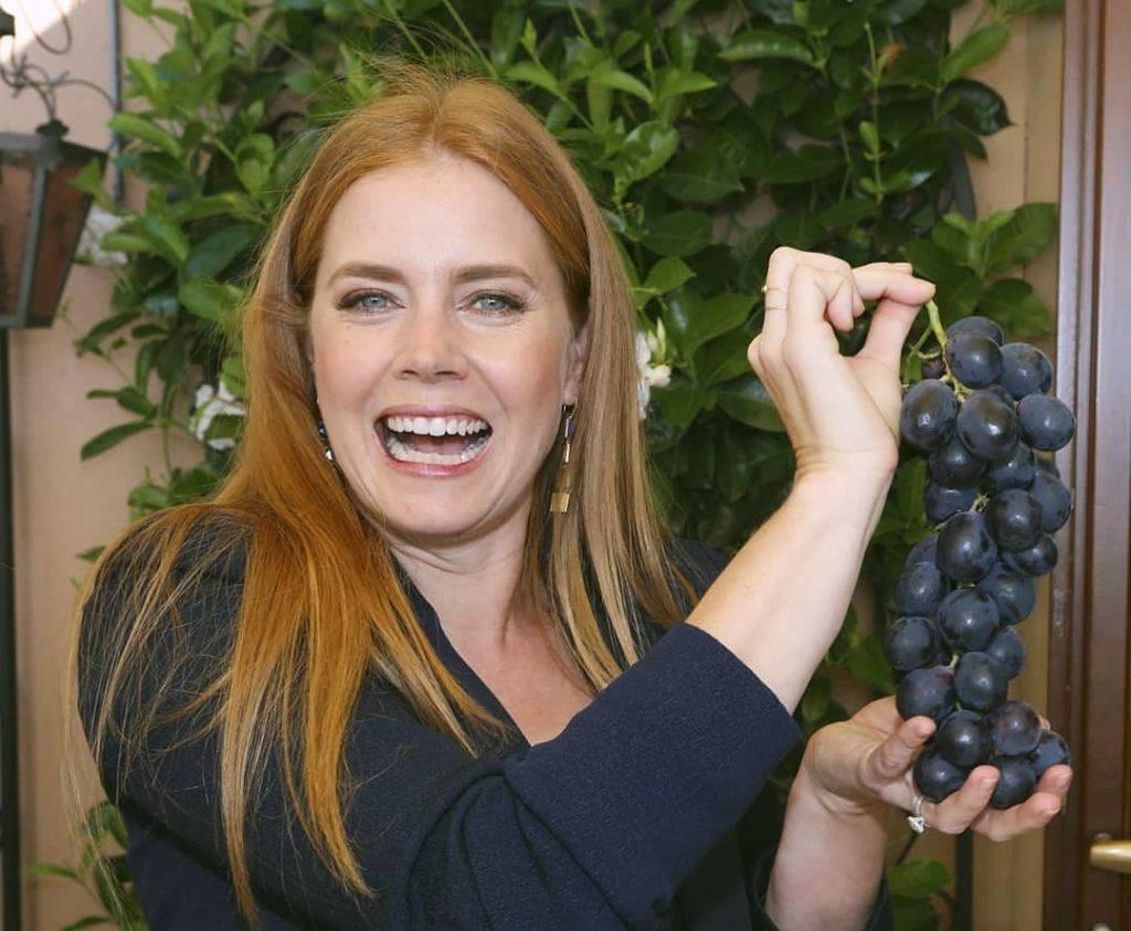 4איימי אדמס בחצר ביתה בהוליווד
