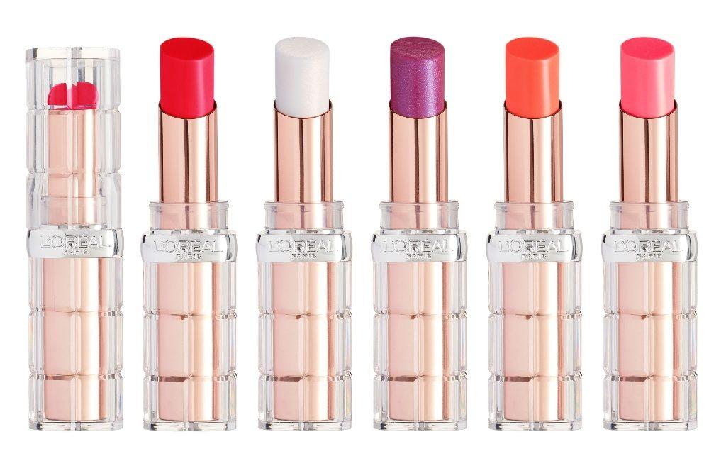 5סידרת השפתונים קולור ריש שיין אנד פלאמפ לשפתיים מלאות וחושניות של לוריאל פריז