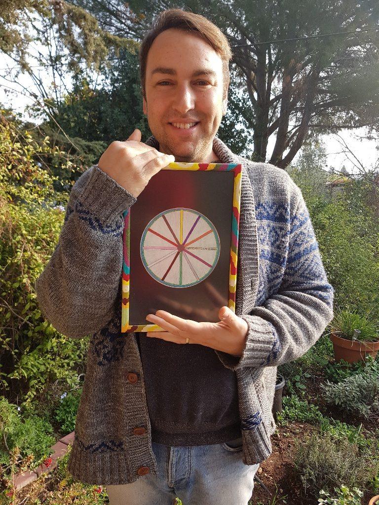 3דורון אורסיאנו ויטנר ומעגל הצבעים האינדיאני