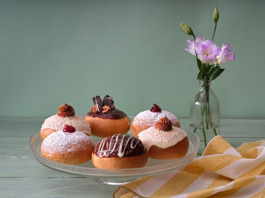 4סופגניות ריבה קלאסית של קפה גרג. צילום אנטולי מיכאלו