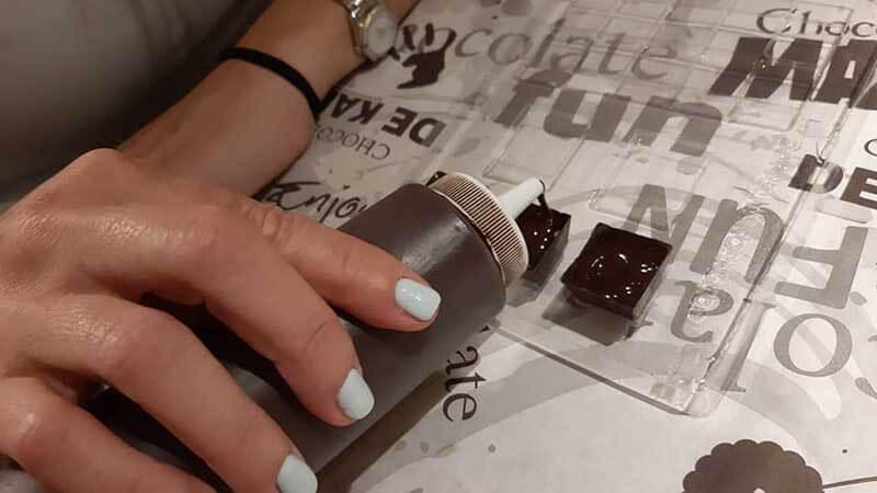 7סדנאות שוקולד בדה-קרינה