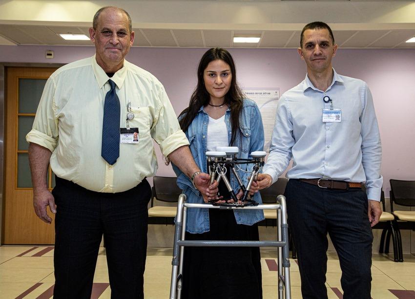 1דר גיגי, לירון דהן המטופלת הראשונה בעולם שטופלה בהצלחה עם הטכנולוגיה החדשה ודר שגב