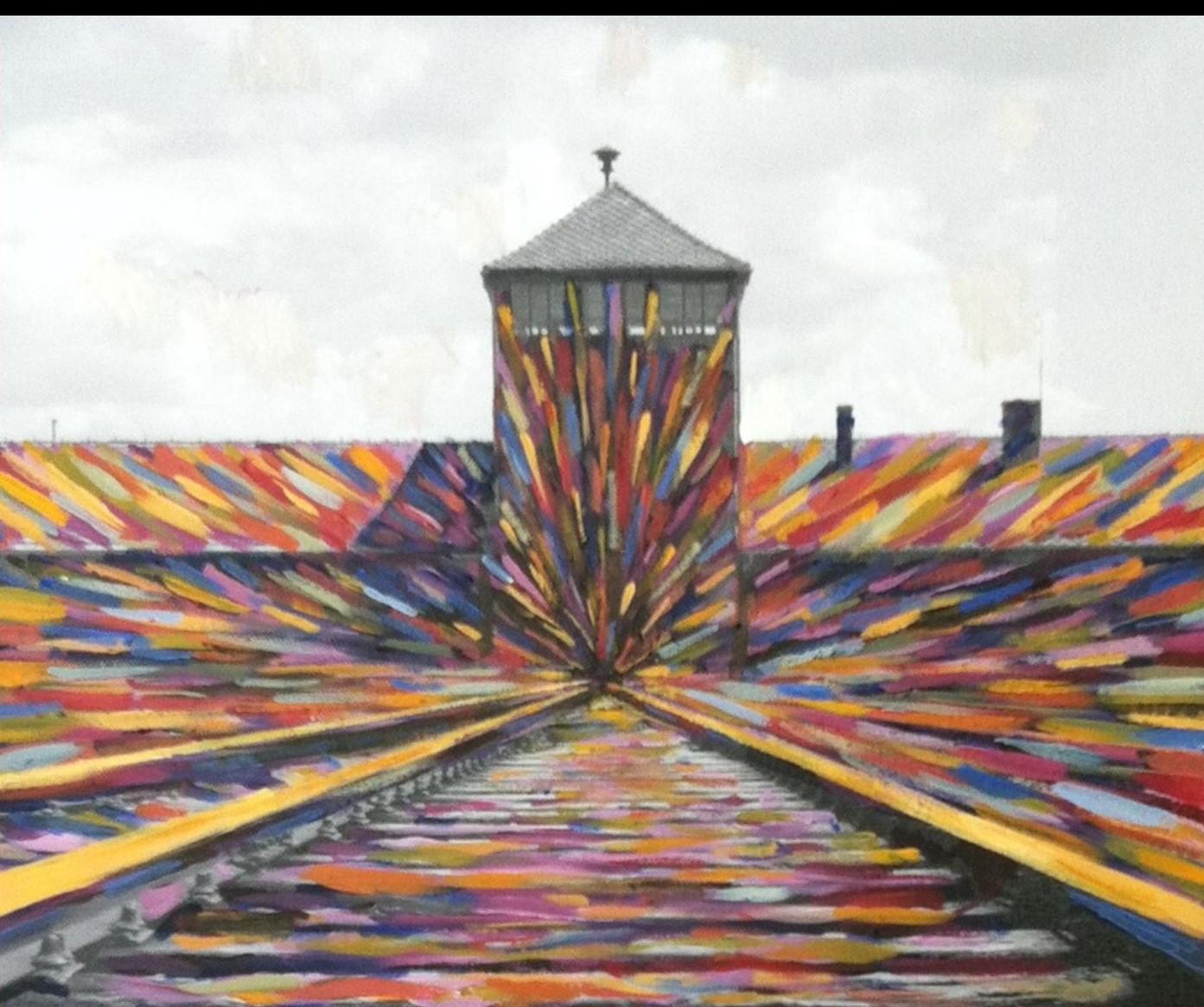 1הציור אושוויץ בצבע