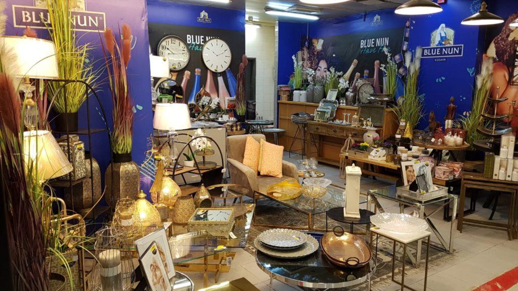 3פריטי עיצוב לבית בחנות הפופ-אפ נובל קולקשיין בקניון הדר בירושלים