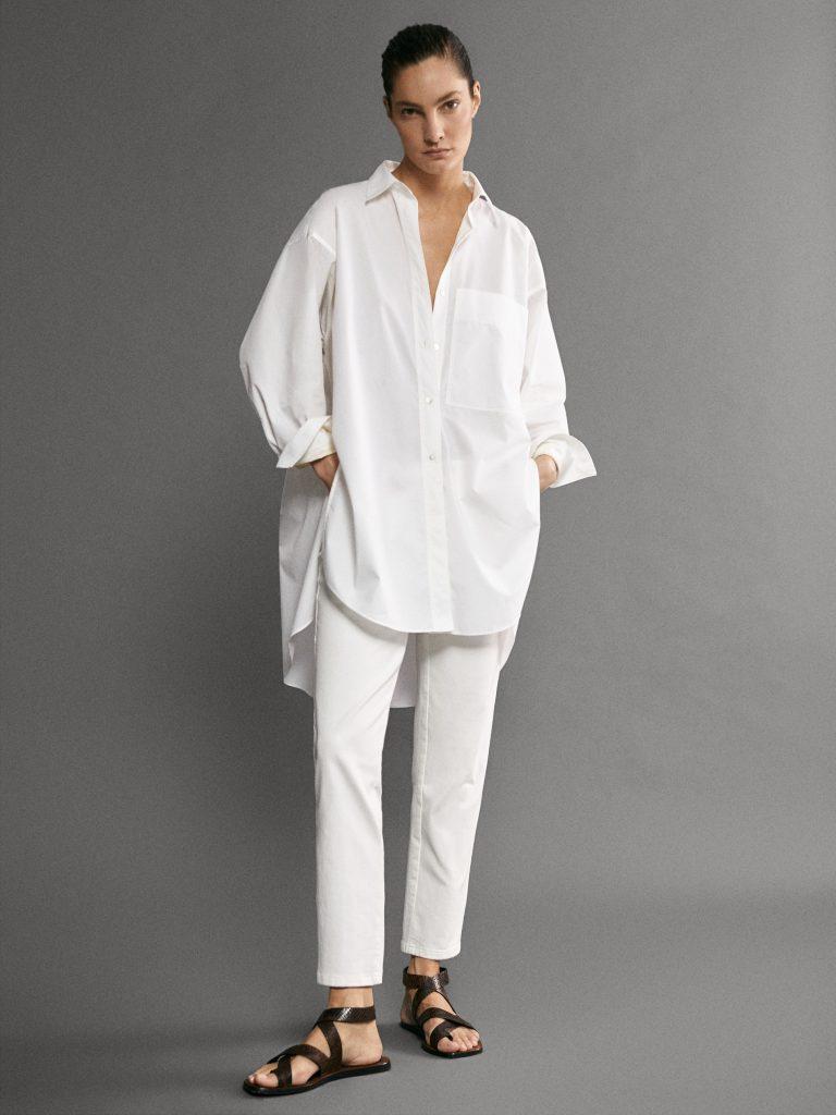 4חולצה לבנה בהשראה גברית 625שקל, מסימו דוטי