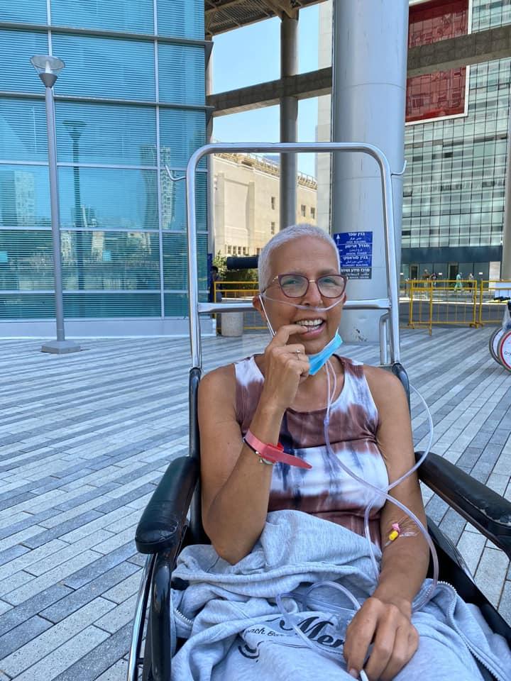 5מירית הררי באשפוז האחרון שלה בבית החולים