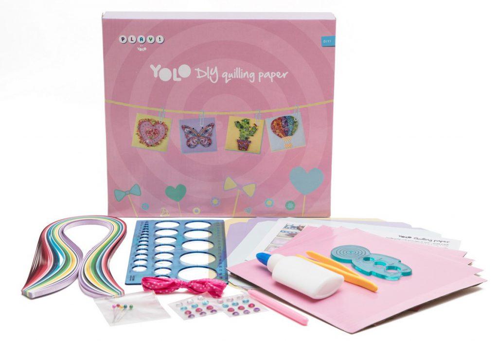 6חדש ערכת יצירה לילדים של YOLO
