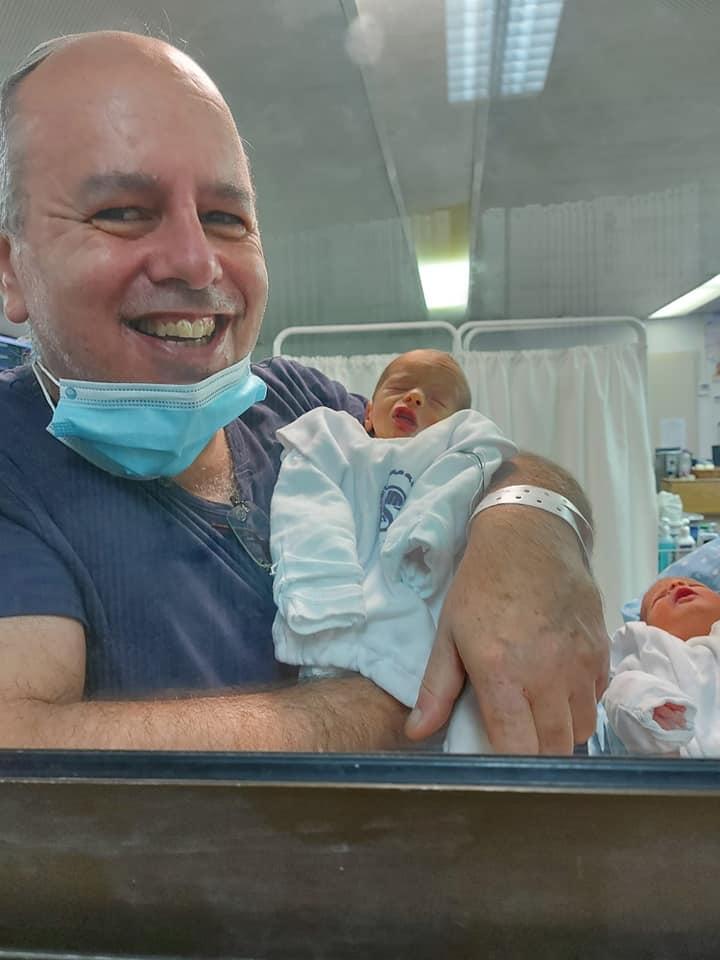 3אמנון דניאלי ובנו התאום