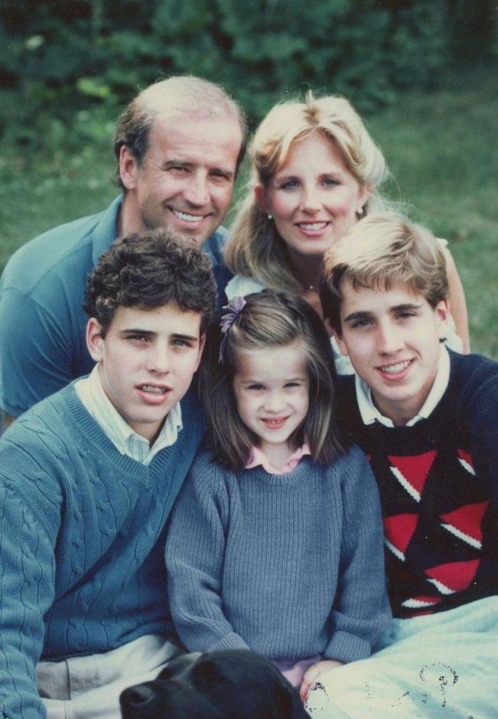 3משפחת ביידן בשנות ה-80