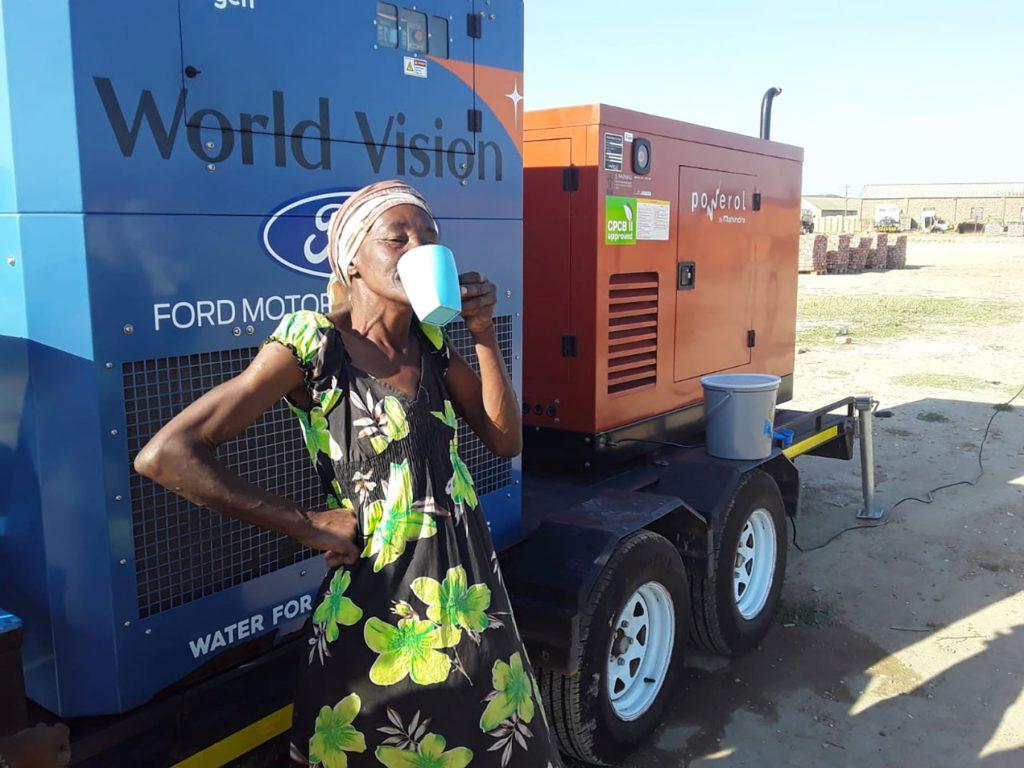 1מחולל מים מהאוויר של ווטרג'ן בדרום אפריקה