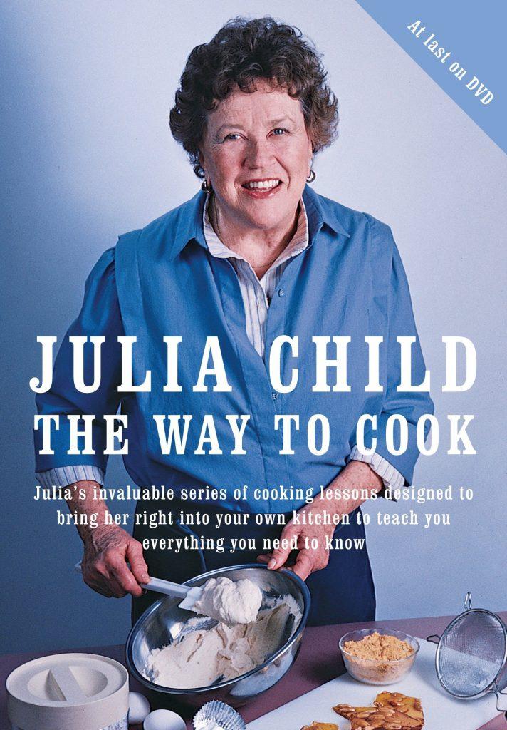 2ג'וליה ציילד על עטיפת אחד מספרי הבישול שלה