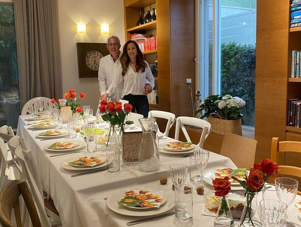 10שולחן החג של מיכל ויואב צפיר