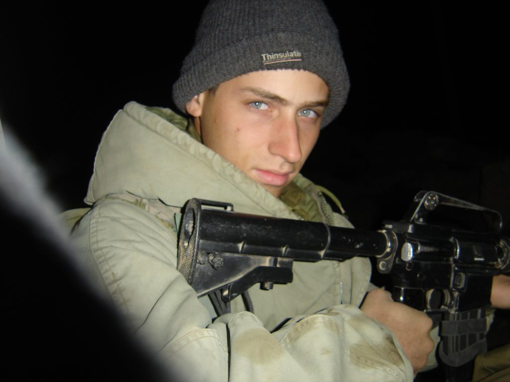 2אחיעד רובנר בעת שירותו הצבאי