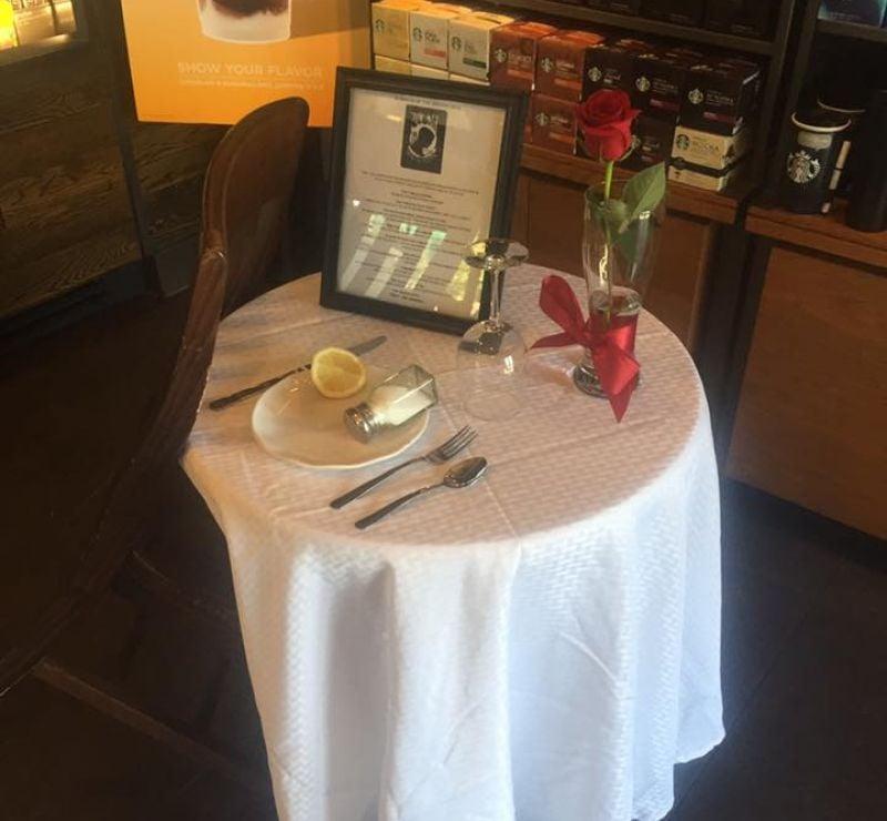 3שולחן המסעדה בארצות הברית