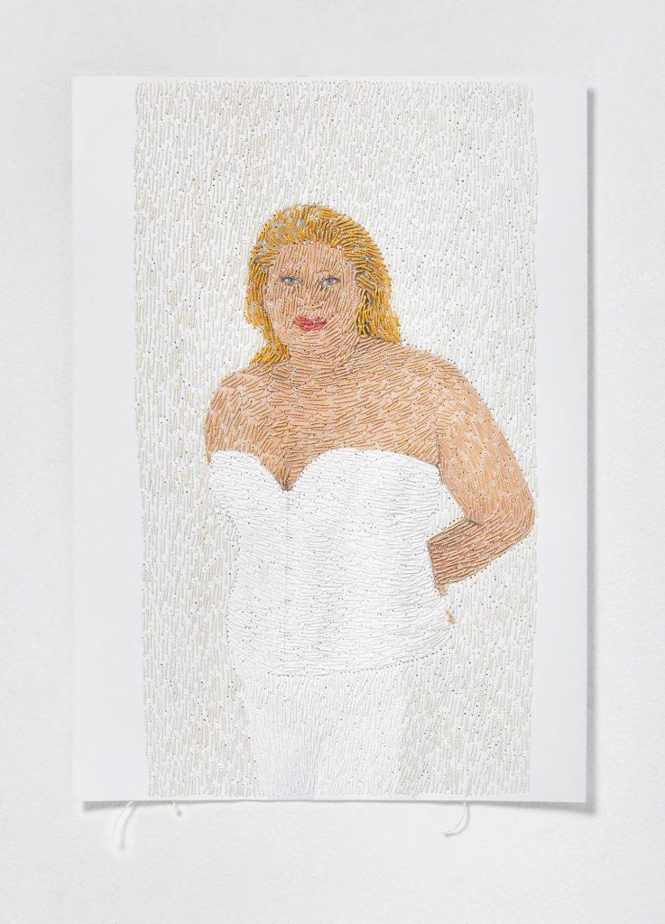 1עבודתה של רעות פרסטר מתוך התערוכה הופכות את היוצרות