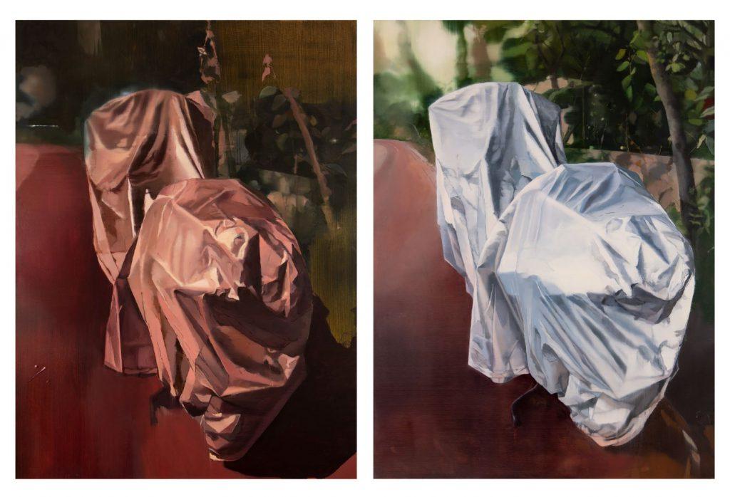 3עבודתה של נעמי מנדל מתוך התערוכה הופכות את היוצרות