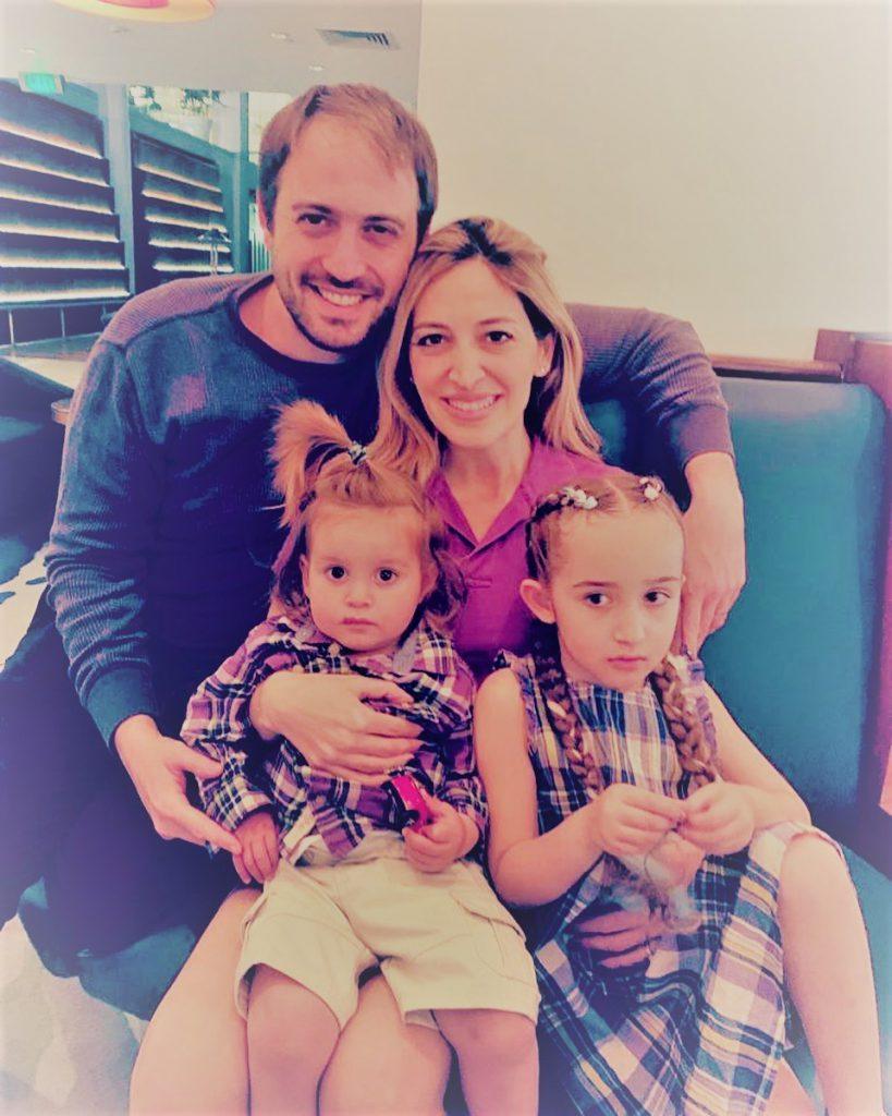 1מירי מיכאלי בעלה והילדים