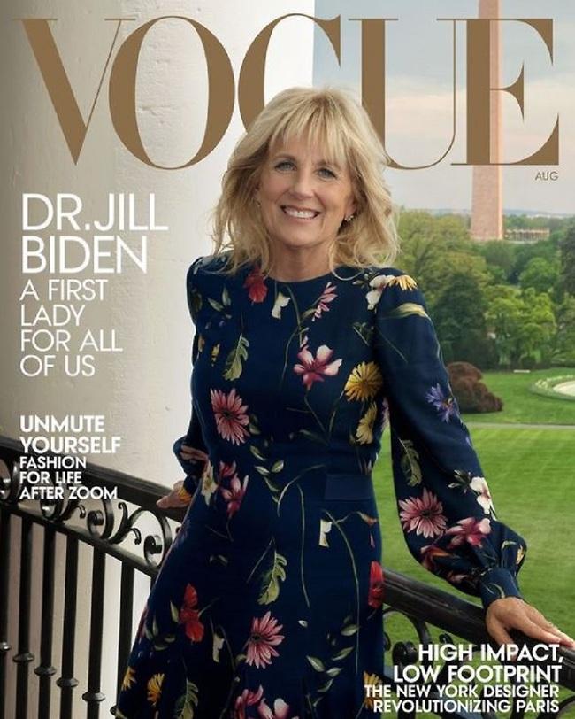 5ג'יל ביידן מככבת על שער מגזין ווג