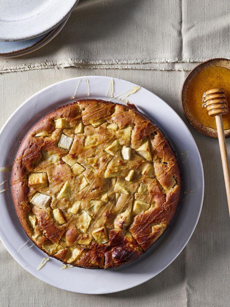 2עוגת תפוח בדבש צילום דן פרץ